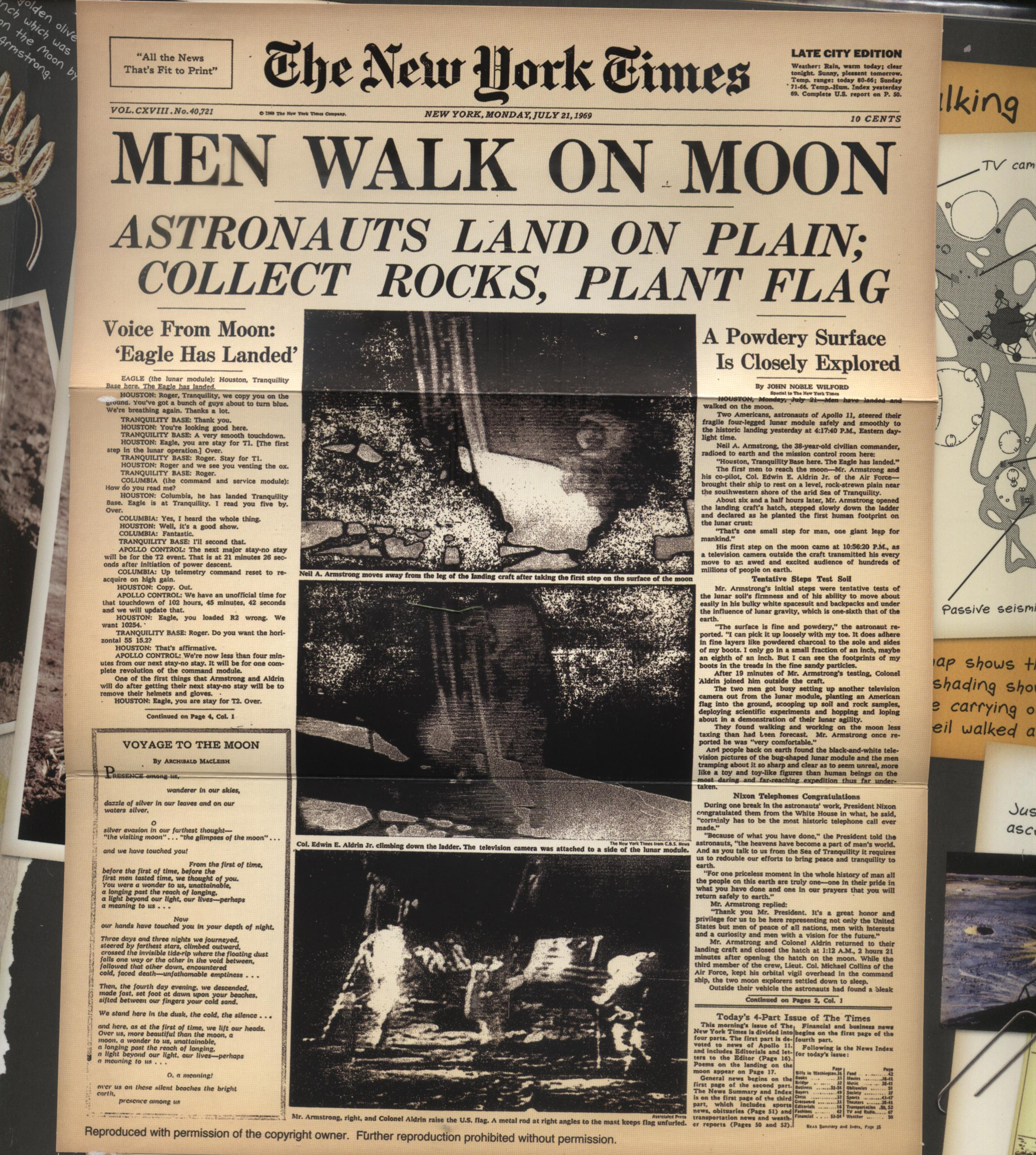moon landing article - photo #16