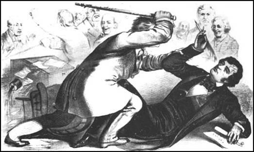 caning of Sen. Sumner