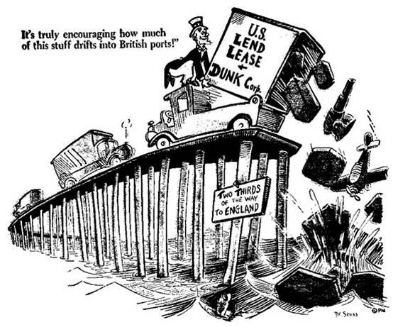Lend Lease Act Dr Seuss Political Cartoons Wwii Powerpoint