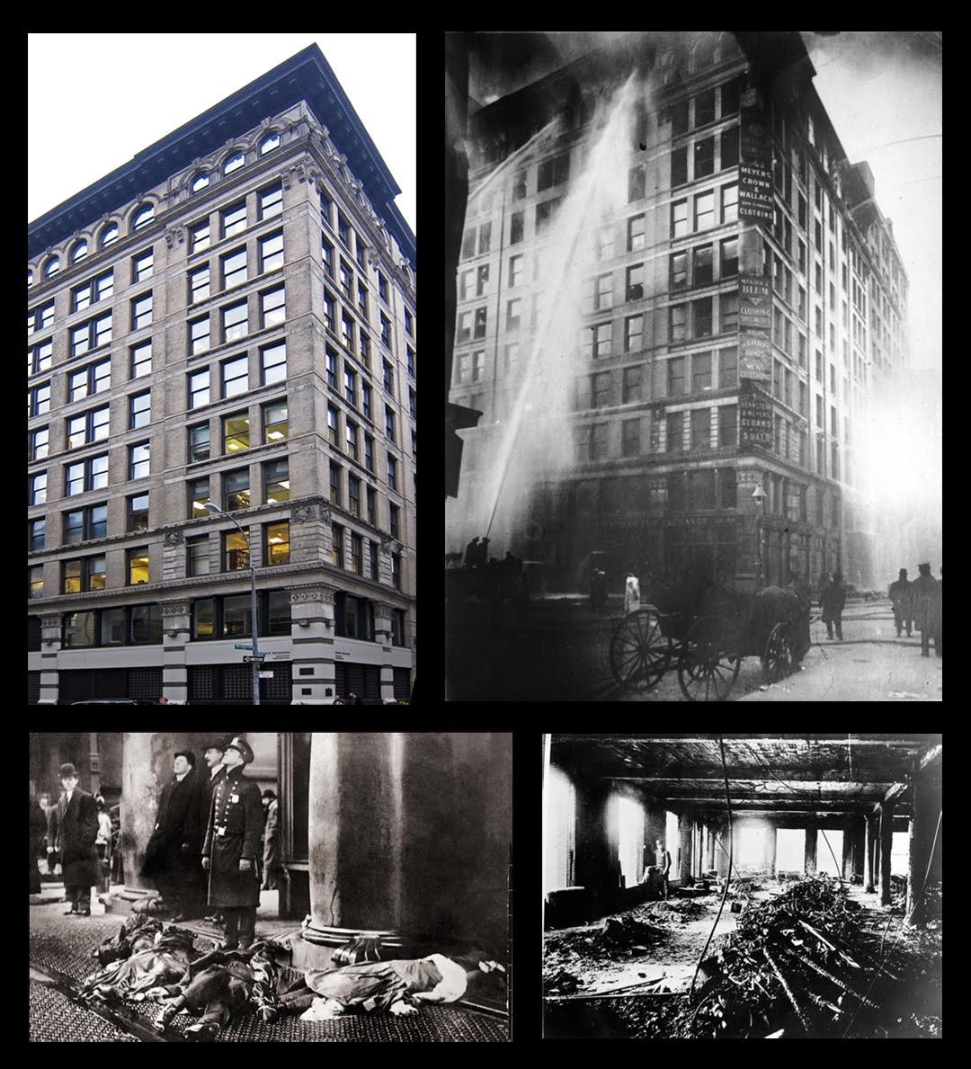 account of the triangle shirtwaist factory fire in new york In 1900 blanck and harris named their business the triangle shirtwaist factory factory fire in the history of new york triangle shirtwaist factory fire.