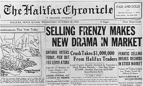 an analysis of the causes of the great crash in 1929 This article examines the causes of the 1929 stock market crash  and opportunity for reflection and analysis — and is  great myths of 1929 and the.
