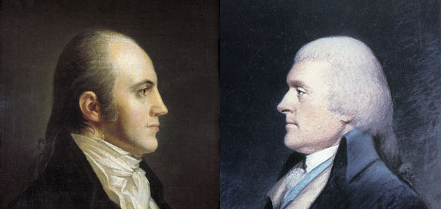 Thomas Jefferson, Aaron Burr and the Election of 1800