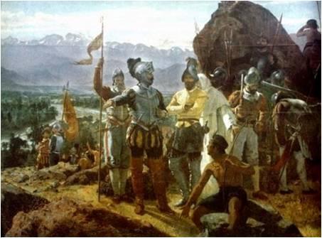 Pizarro Executes Last Inca Emperor
