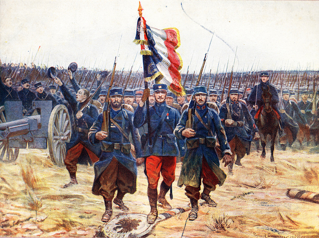 WW I French Army