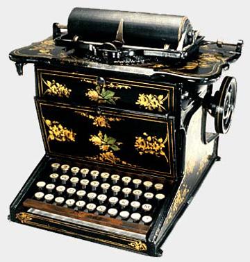 t pewriter
