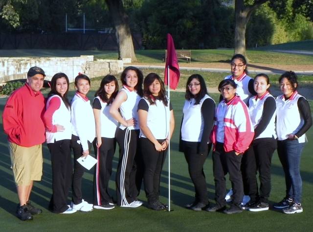saisd fall girls golf team