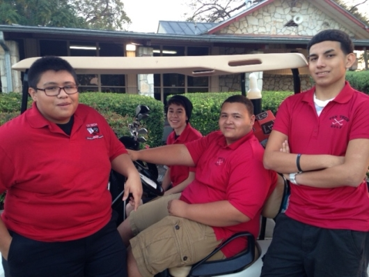 Boys Golf @ Riverside Golf Course 2015