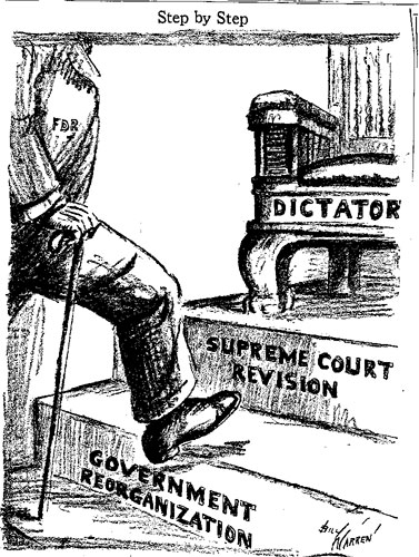 court packing bill cartoon