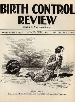 Birth Control Review, November, 1923.